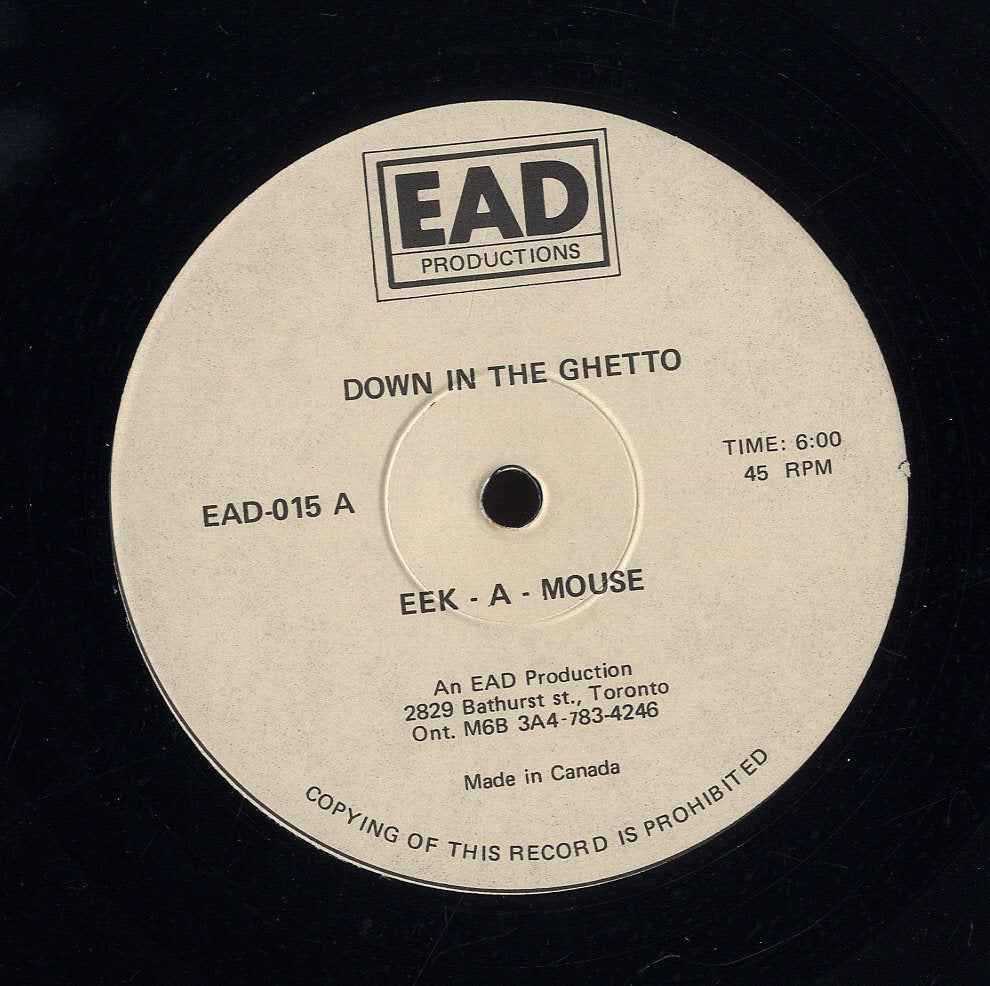 EEK A MOUSE/ BADOO [Down In The Ghetto (Tell Them) / Jolly Time]