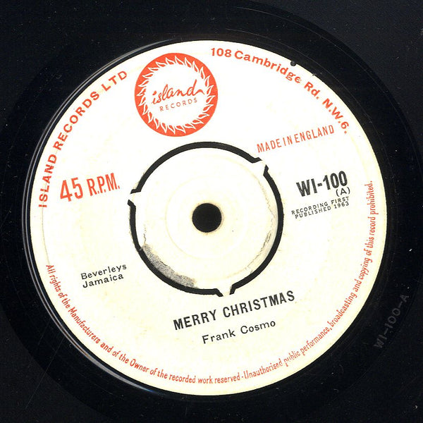 FRANK  COSMO [Greetings From Beverley's / Merry Christmas]