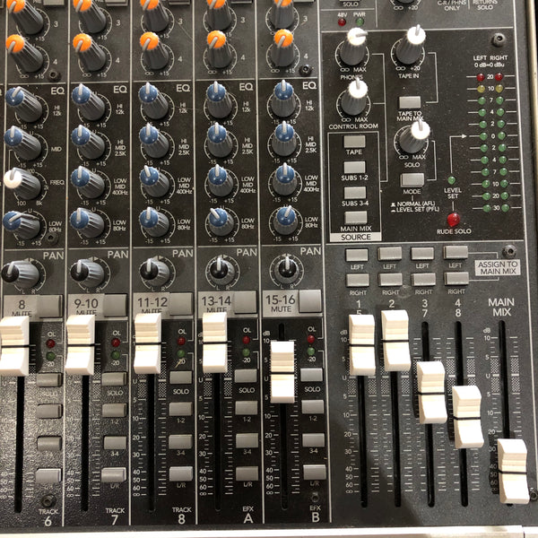 MACKIE 16-CHANNEL ANALOGUE MIXER [1642 Vlz3]