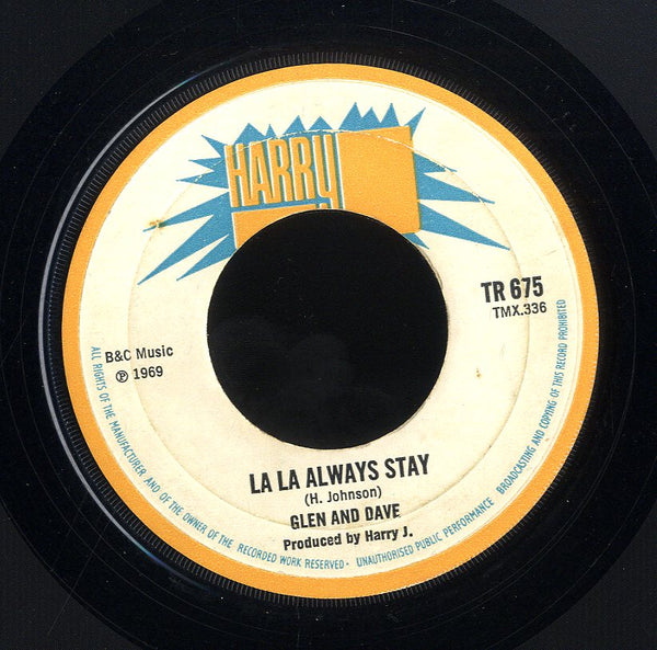 GLEN & DAVE/HARRY- J ALL STARS  [La La Always Stay / Liquidator ]
