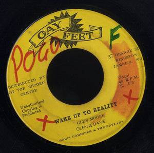 GLEN & DAVE / THE FUGITIVES [Wake Up To The Reality / Musical Pressure]