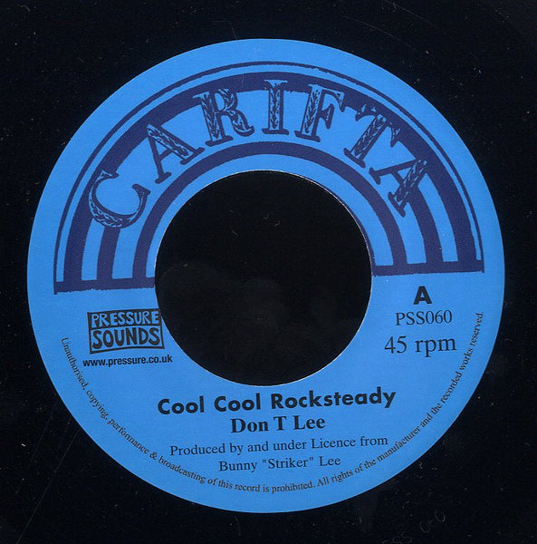 DON LEE / GLEN ADAMS & ALVA LEWIS [Cool Cool Rock Steady / S - H - I ( I'm Shocking)]