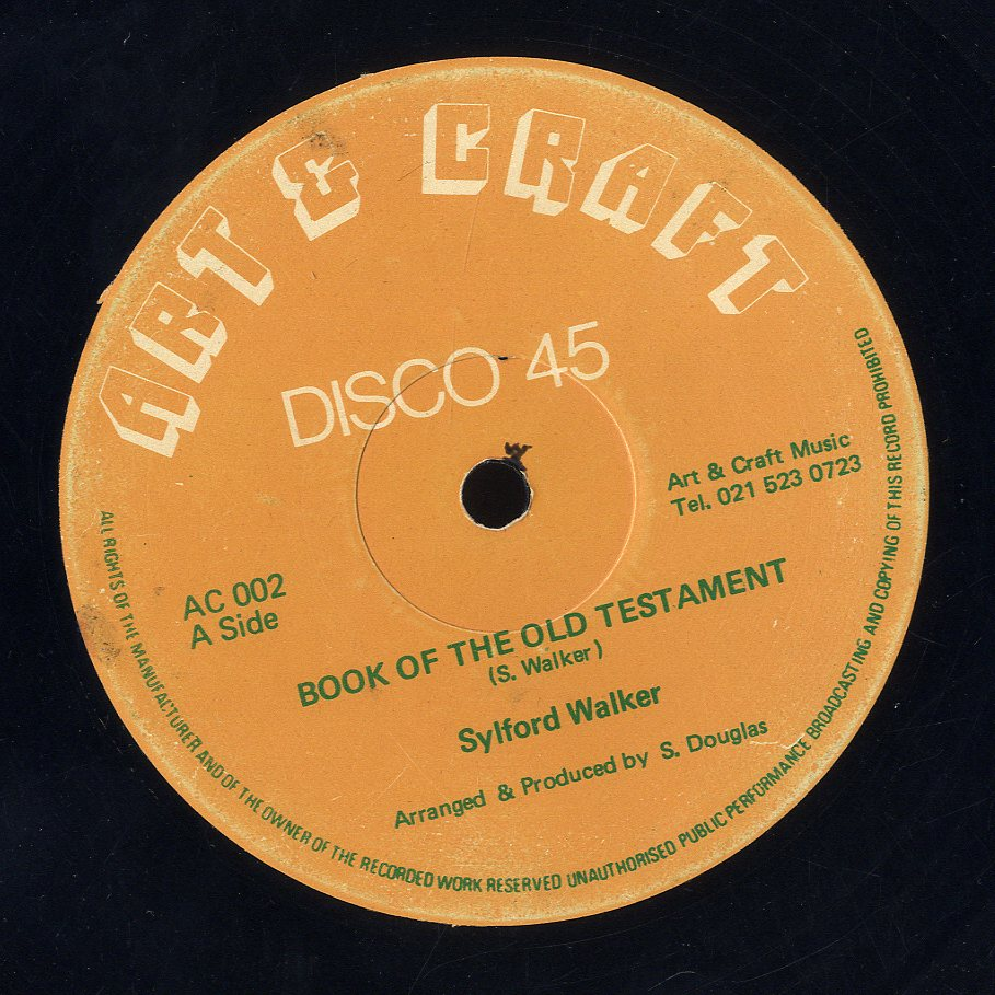 SILFORD WALKER / JAH STICH [Book Of The Old Testament / Jah Speak Unto Moses]