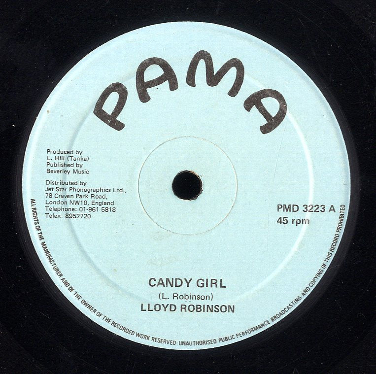 LLOYD ROBINSON [Candy Girl]