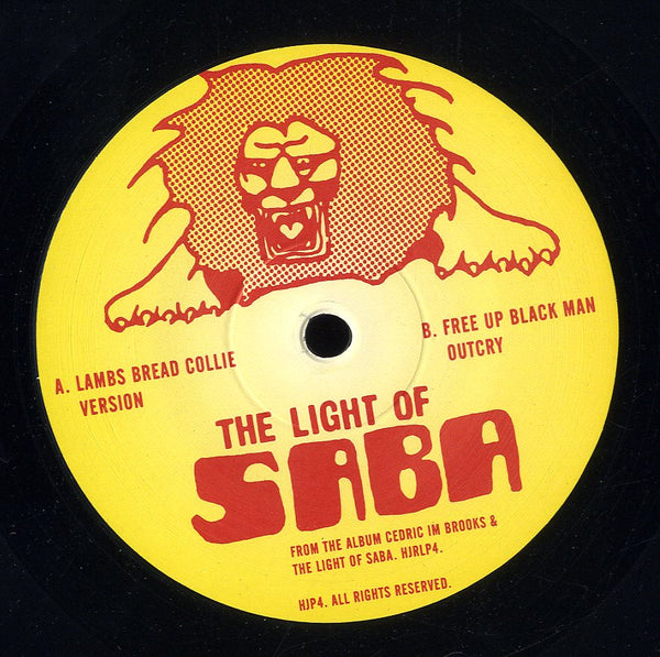 LIGHT OF SABA [Lambs Bread Collie / Free Up Black Man Outcry]