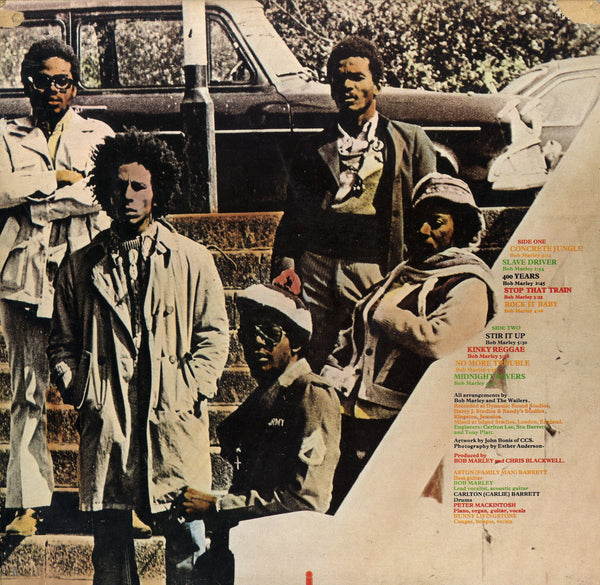 THE WAILERS [Catch A Fire]
