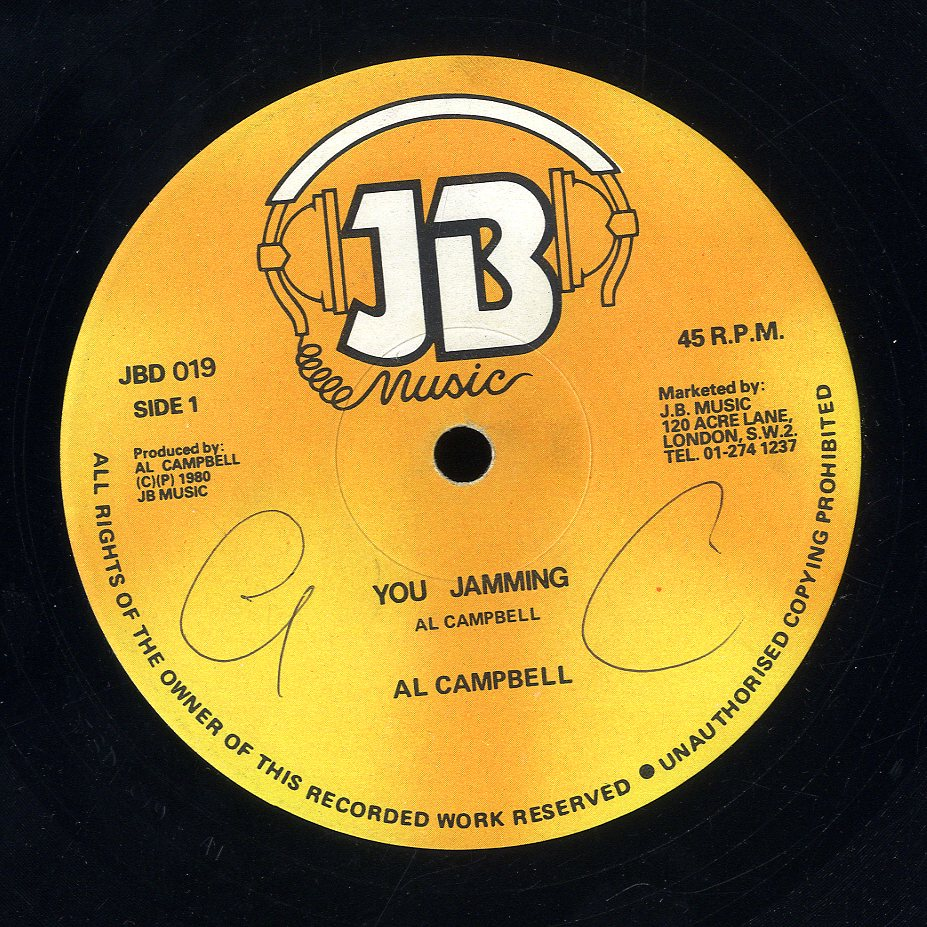 AL CAMPBELL [You Jamming]