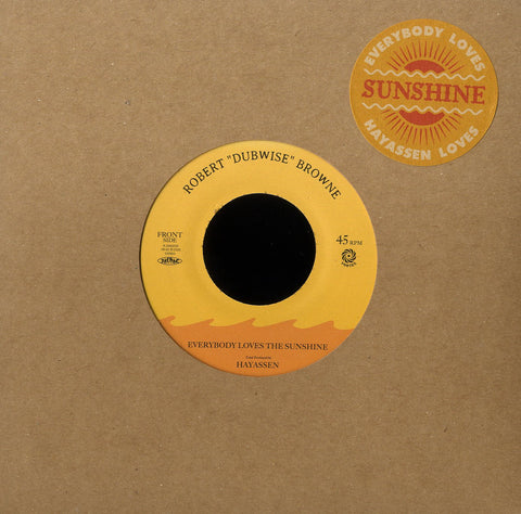 "ROBERT ""DUBWISE"" BROWNE [Everybody Loves The Sunshine / Dub Version]"