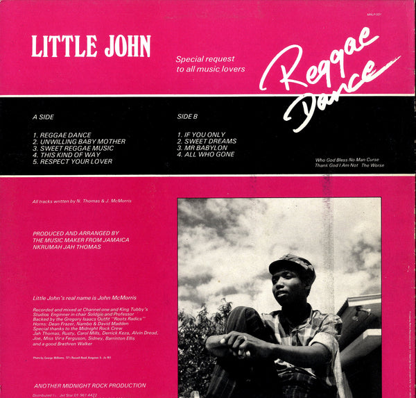 LITTLE JOHN [Reggae Dance]