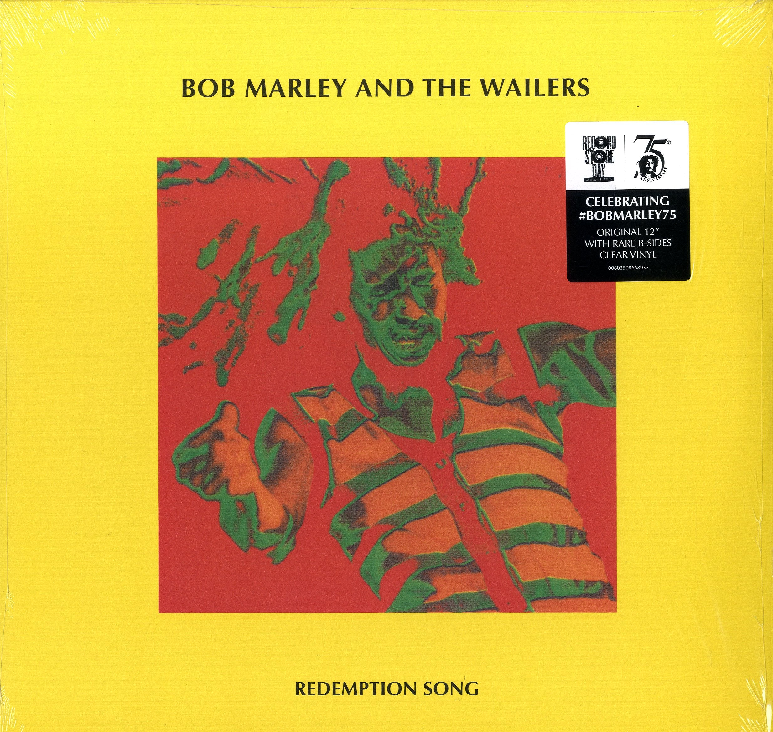 BOB MARLEY & THE WILSER [Redemption Song / Redemption Song (Band Edit Version) / I Shot The Sheriff (Live At The Rainbow)]