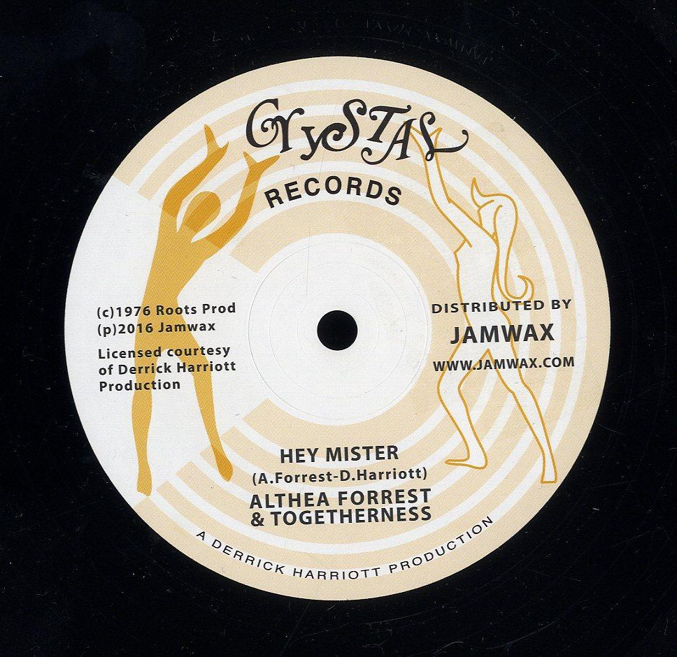 ALTHEA FORREST & TOGETHERNESS [Hey Mister]