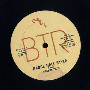 FRANKIE PAUL [Dance Hall Style (Curfew In The Dance)]