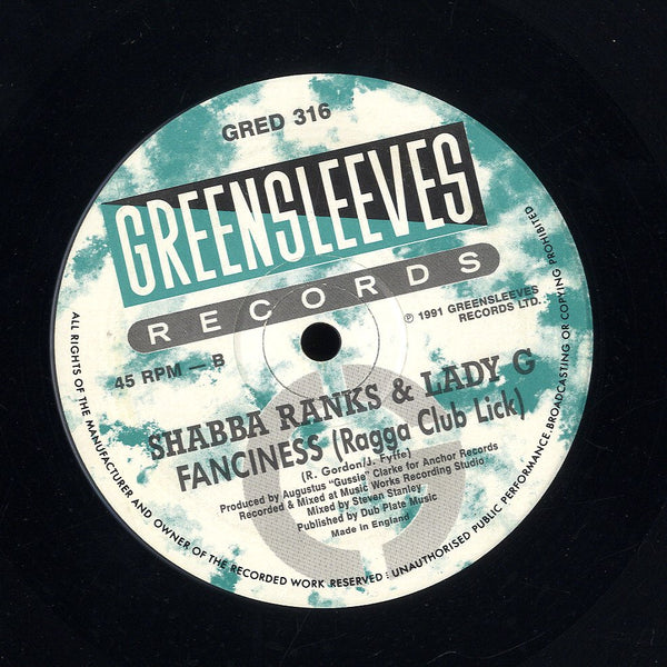 SHABBA RANKS & LADY G  [Fanciness / Fanciness Hiphop Reggae Mix]