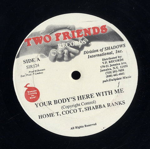 HOME T, COCOA TEA & SHABBA RANKS [Your Body's Here With Me]