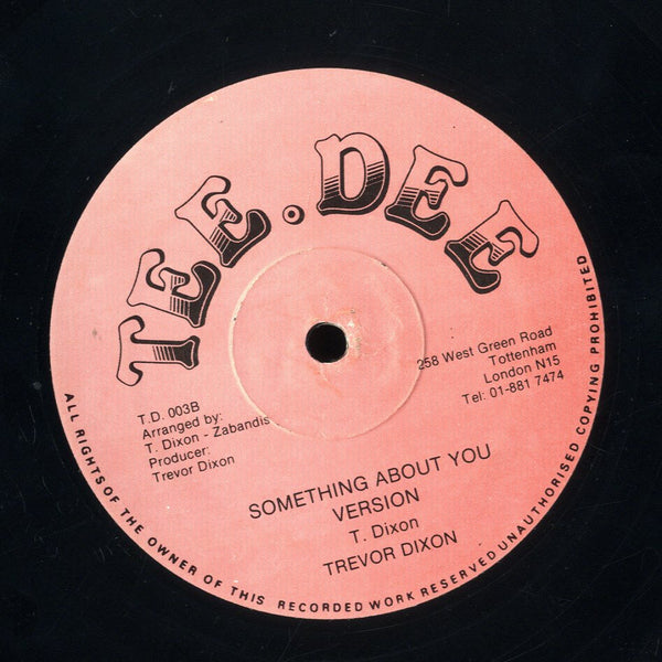 TREVOR DIXON [Something About You]