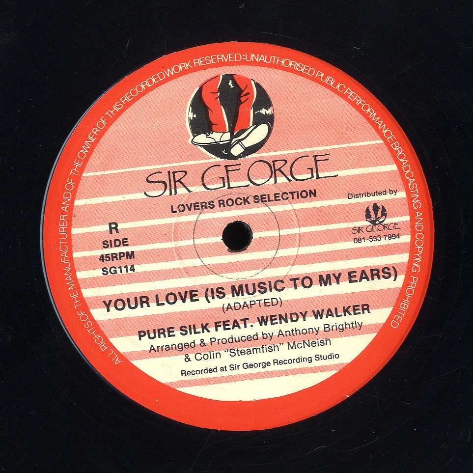 PURE SILK FEAT. WENDY WALKER [Your Love (Is Music To My Ears)]