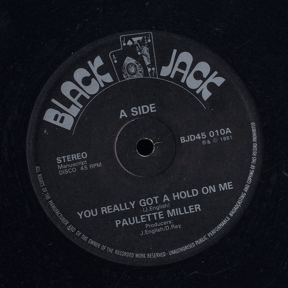 PAULETTE MILLER [You Really Got A Hold On Me]