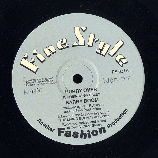 BARRY BOOM [Hurry Over / Be My Lover]