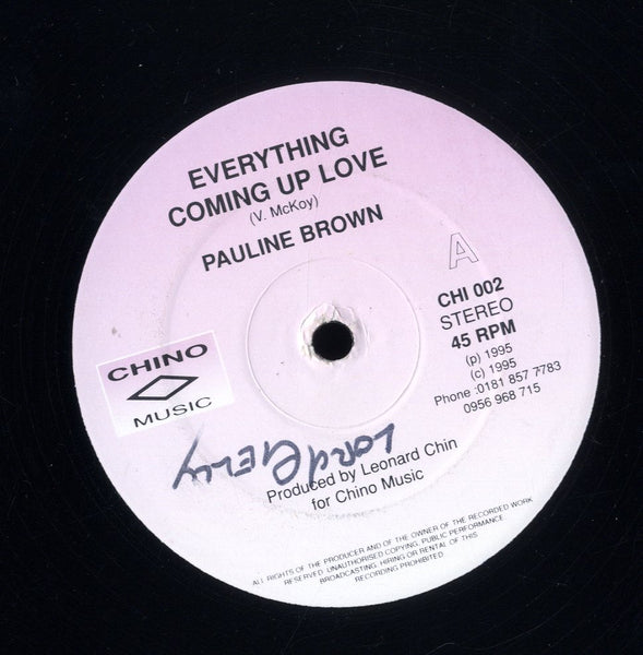 PAULINE BROWN [Everything Coming Up Love]