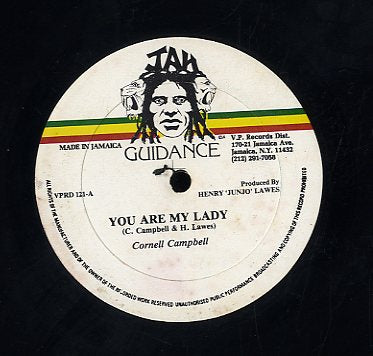 CORNELL CAMPBELL / TONY TUFF [You Are My Lady / Come We Come Fi Mash It]