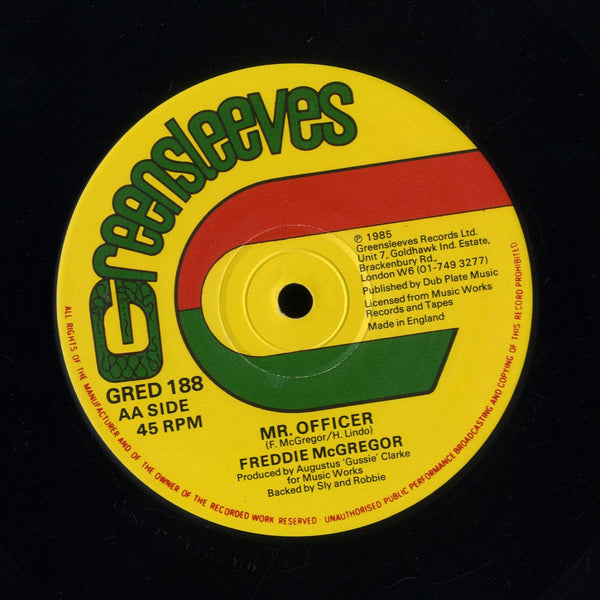 FREDDIE MCGREGOR & DENNIS BROWN / FREDDIE MCGREGOR [Raggamuffin / Mr. Officer]