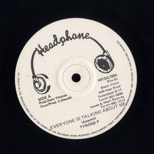 TYRONE P / FRANKIE PAUL [Everyone Is Talking About Me / Rub A Dub Market]