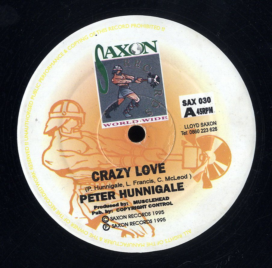 PETER HUNNIGALE [Crazy Love]
