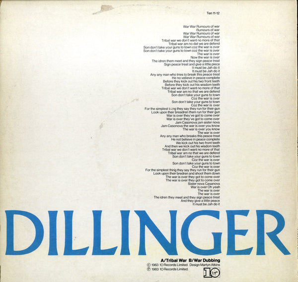 DILLINGER [Tribal  War]