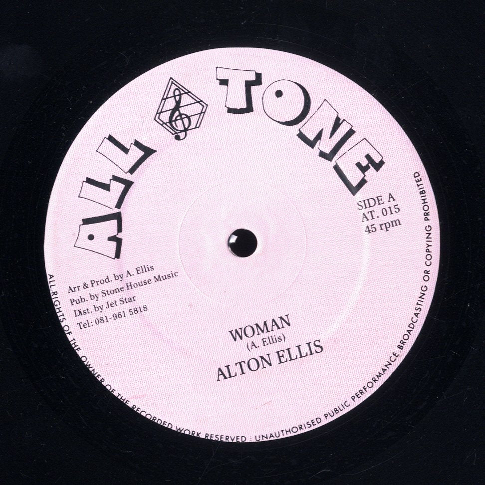 ALTON ELLIS [Woman / Let Him Try / Merry X-Mas Jamaican]