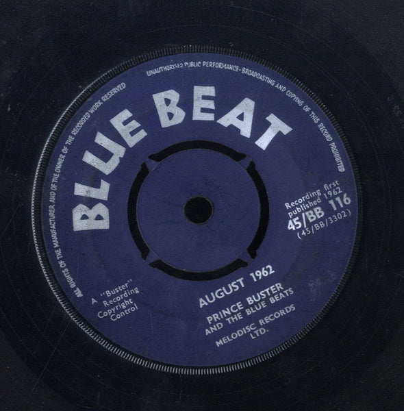 PRINCE BUSTER [Independence Song / August 1962]