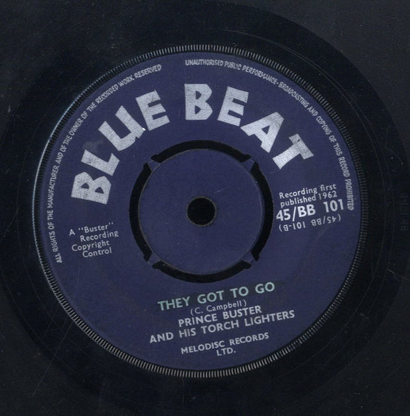PRINCE BUSTER [My Sounds Goes Around / They Got Go]