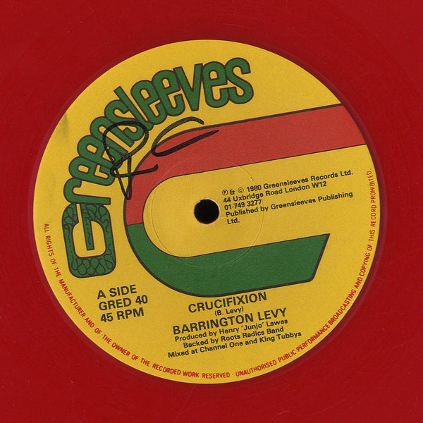 BARRINGTON LEVY / BARRINGTON LEVY & GENERAL ECHO [Crucifixion / Eventide Fire A Disaster]