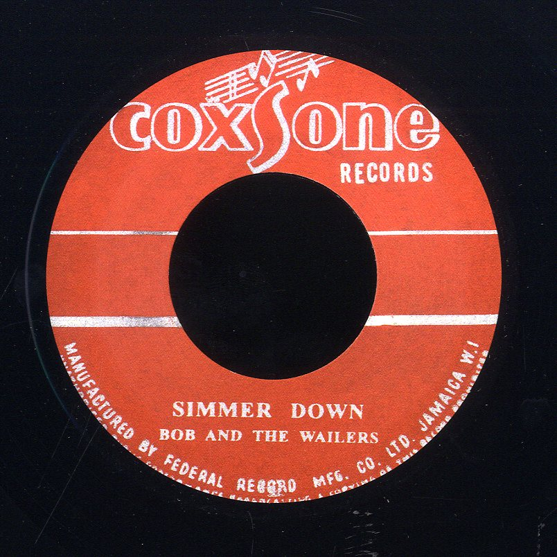 THE WAILERS  [Simmer Down / How Many Times]