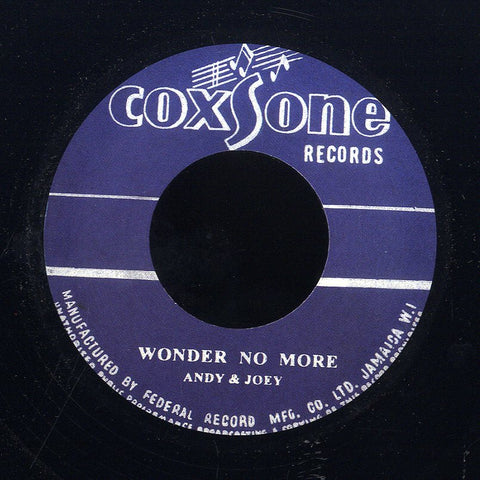 ANDY & JOEY / DON DRUMMOND &ROLAND ALPHONSO [Wonder No More / Heaven & Earth]