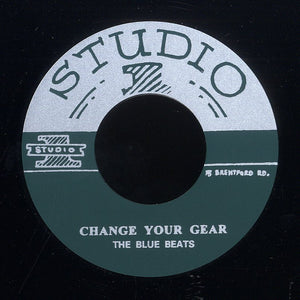 THE BLUE BEATS / ROLAND ALPHONSO (SILKSCREEN LABEL)  [Change Your Gear / Lee Harvey Jnr.]