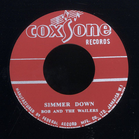 THE WAILERS (SILKSCREEN LABEL)  [Simmer Down / How Many Times]
