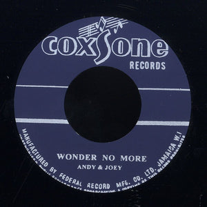 ANDY & JOEY / DON DRUMMOND & ROLAND ALPHONSO (SILKSCREEN LABEL)  [Wonder No More / Heaven & Earth]