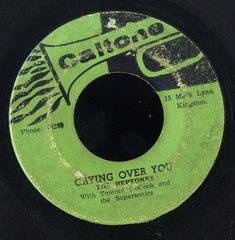 THE HEPTONES / LLOYD & THE GROOVERS [Crying Over You / Do It To Me Baby]