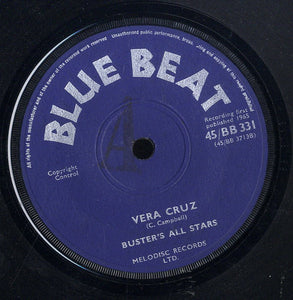 BUSTER'S ALL STARS / THE SPANISH BOYS [Vera Cruz / I Am Alone]