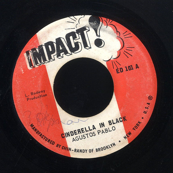 AUGUSTUS PABLO  [Cinderella In Black Version 3 / Version 4]
