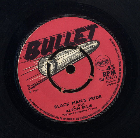 ALTON ELLIS / LEROY PALMER [Black Mans Pride / Groove With It]