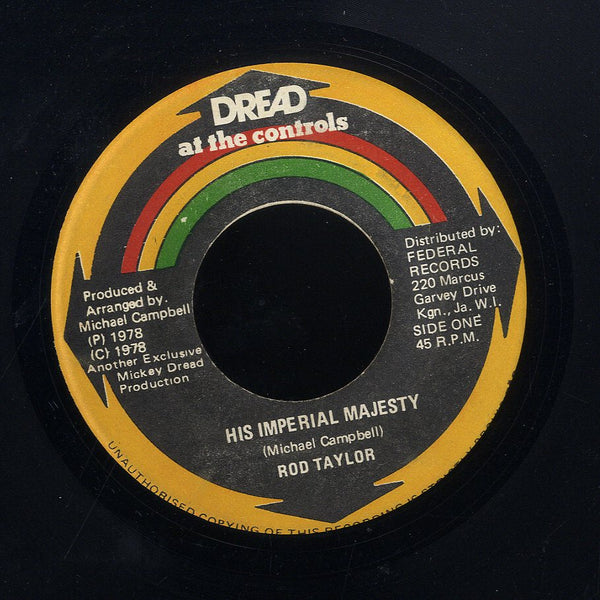 ROD TAYLOR [His Imperial Majesty]
