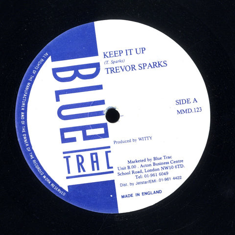 TREVOR SPARKS [Keep It Up / Wings Of Love]