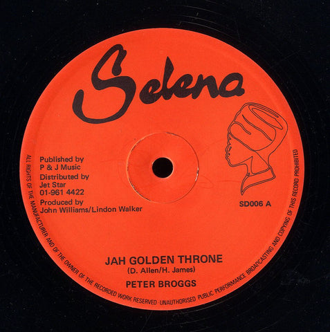 PETER BROOGS / DEXTER MCKINTYRE [Jah Golden Throne/ 144000 Saints]
