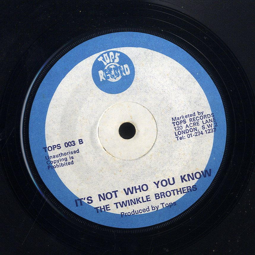 TWINKLE BROTHERS / ETHIOPIANS [It's Not Who You Know / I Need Someone]