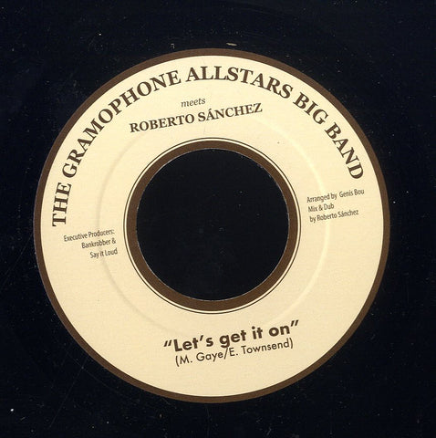 GRAMOPHONE ALLSTARS BIG BAND [Let's Get It On]