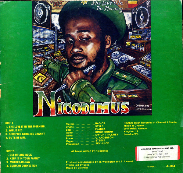NICODIMUS  [She Love It In The Morning]