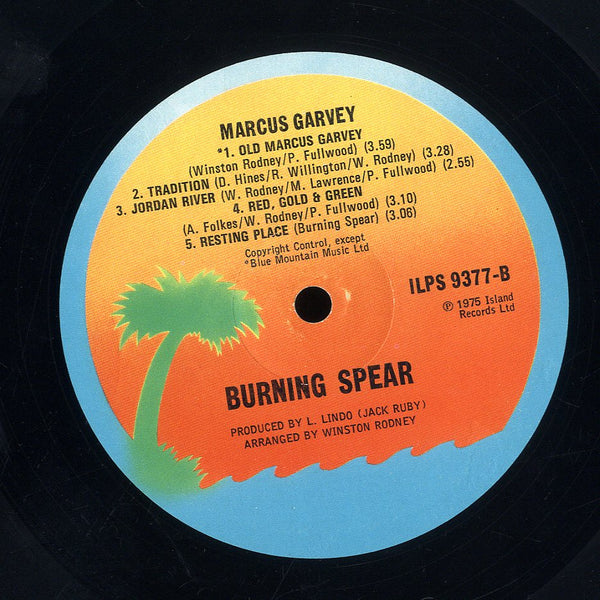 BURNING SPEAR [Marcus Garvey]
