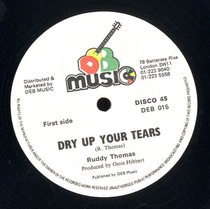 RUDDY THOMAS / LITTLE ROY  [Dry Up Your Tears / Rat Trap ]