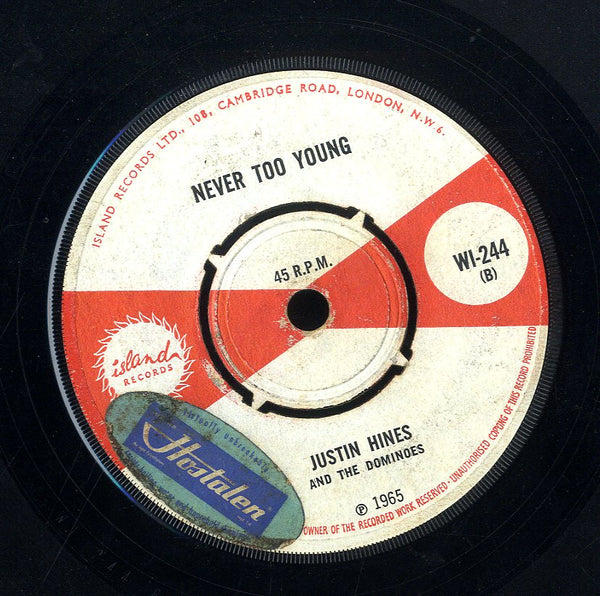 JUSTIN HINDS & THE DOMINOS [Lucky Seven / Never Too Young]